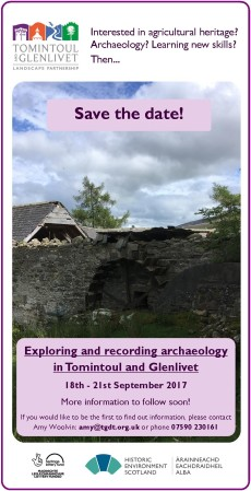 Save the Date - September archaeology