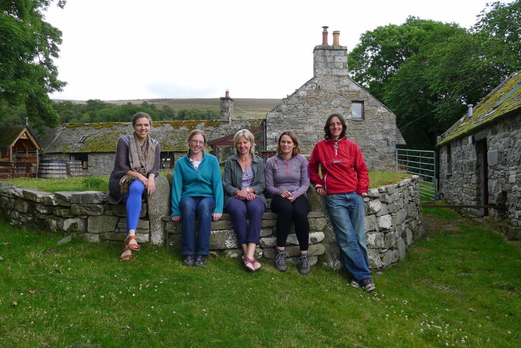 TGLP staff, from left: Amy Woolvin, Jackie Taylor, Elspeth Grant, Jennifer Fraser, Lynn Cassells